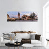The Main Square Of Krakow Poland Panoramic Canvas Wall Art 1 Piece / Small Tiaracle