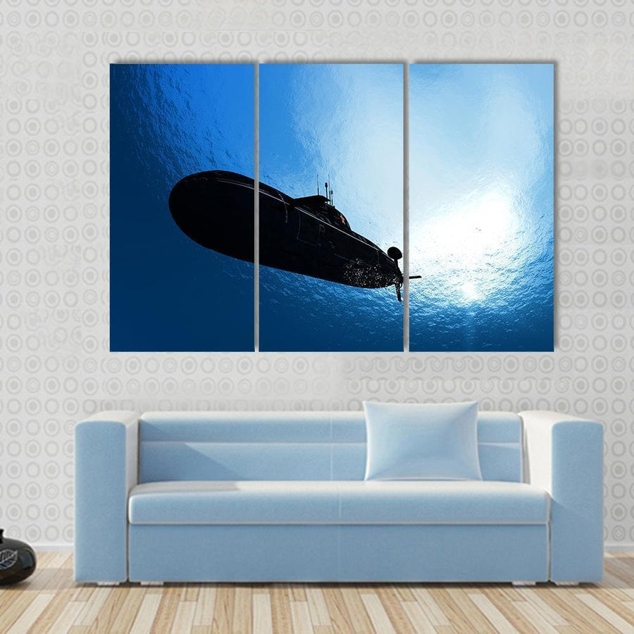 The Military Ship In The Sea Canvas Panel Painting Tiaracle