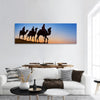 Three Wise Men In Desert Panoramic Canvas Wall Art Tiaracle