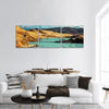 Torres del Paine In Chile Panoramic Canvas Wall Art 3 Piece / Small Tiaracle
