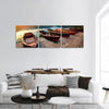Tourist Boat On Lake Bled In Slovenia Panoramic Canvas Wall Art Tiaracle