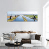 Traditional Windmills In Netherlands Panoramic Canvas Wall Art Tiaracle