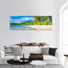 Tropical Island Beach In Thailand Panoramic Canvas Wall Art 1 Piece / Small Tiaracle