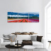 Tulip Fields In Fraser Valley Panoramic Canvas Wall Art Tiaracle