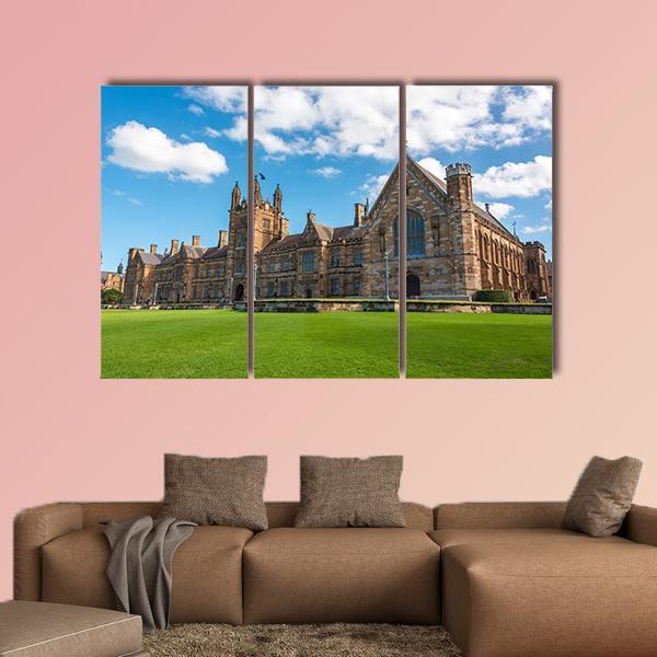 University Of Sydney Gothic Style Multi Panel Canvas Wall Art 4 Pieces / Medium / Canvas Tiaracle