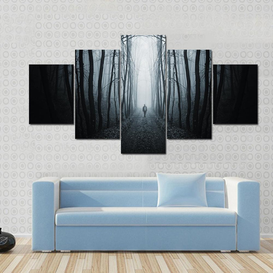Unknown Horror Street Canvas Panel Painting Tiaracle