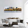 USA City Skyline On The Potomac River Panoramic Canvas Wall Art Tiaracle