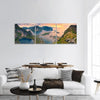 View From Reinebringen At Lofoten Islands Panoramic Canvas Wall Art Tiaracle