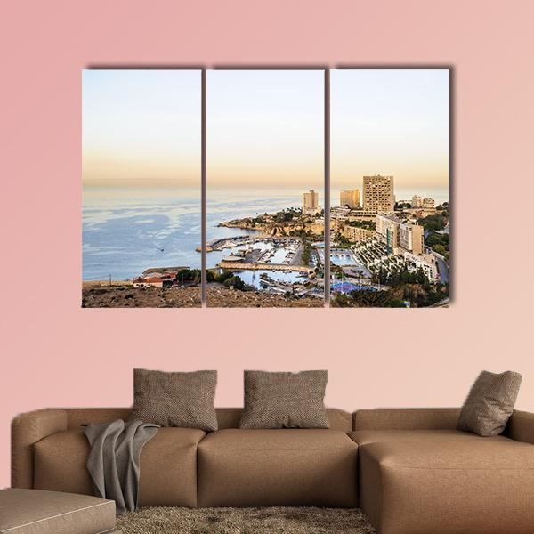 Panoramic View Of Beirut Multi Panel Canvas Wall Art 5 Pieces(A) / Medium / Canvas Tiaracle