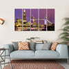 View of Tower Bridge In The Evening, London Canvas Wall Art-5 Horizontal-Small-Gallery Wrap-Tiaracle