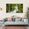 Waterfall In Slovakia Canvas Wall Art-5 Horizontal-Small-Gallery Wrap-Tiaracle