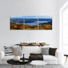 Windermere Lake In England Panoramic Canvas Wall Art 3 Piece / Small Tiaracle