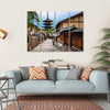 Yasaka Pagoda And Sannen Zaka Street Canvas Wall Art-4 Horizontal-Small-Gallery Wrap-Tiaracle