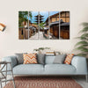 Yasaka Pagoda And Sannen Zaka Street Canvas Wall Art-5 Horizontal-Small-Gallery Wrap-Tiaracle