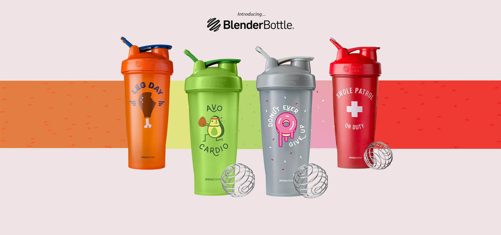 """Just For Fun"" Shaker Bottles by BlenderBottle"