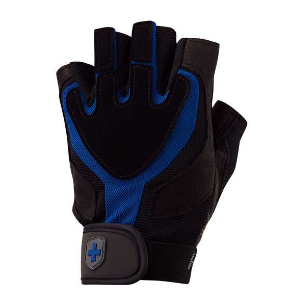 01260 Harbinger Training Grip Gym Gloves Left Top