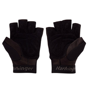 01260 Harbinger Training Grip Gym Gloves Pair Palm