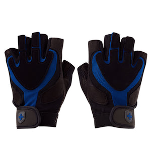 01260 Harbinger Training Grip Gym Gloves Pair Top