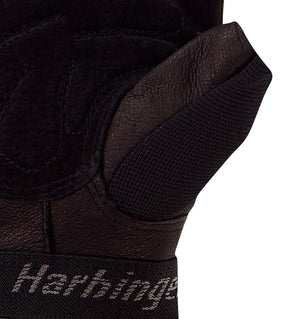 01260 Harbinger Training Grip Gym Gloves Palm Close Up