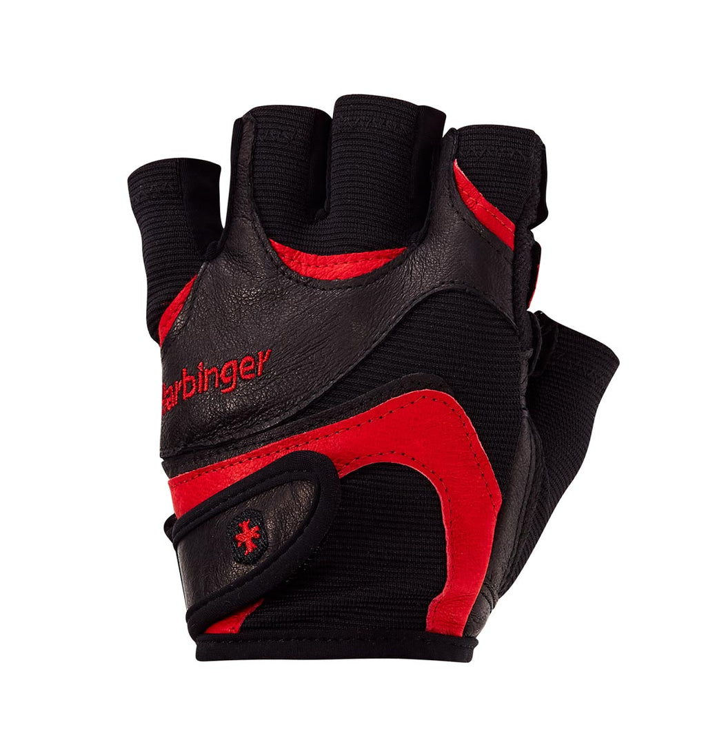 0138 Harbinger FlexFit Mens Gym Gloves Left Top