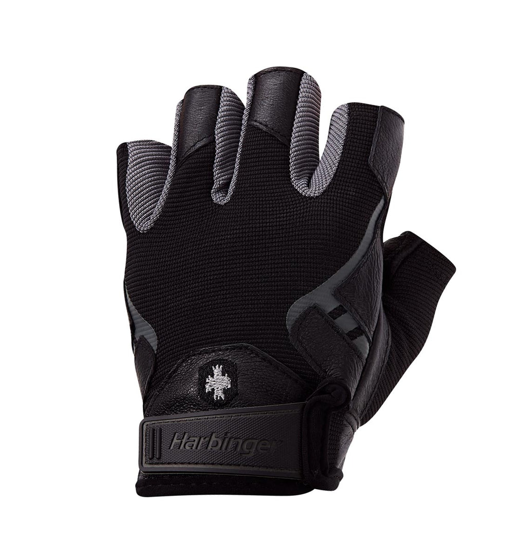 0143 Harbinger Pro Mens Gym Gloves Left Top
