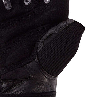 0143 Harbinger Pro Mens Gym Gloves Palm Close Up