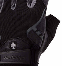 0143 Harbinger Pro Mens Gym Gloves Top Close Up