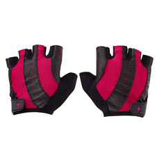0149 Harbinger Pro Womens Gym Gloves Pink Palm Close Up