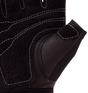 0154 Harbinger Power Womens Gym Gloves Palm Close Up