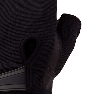 0155 Harbinger Power Series Mens Gym Gloves Top Close Up