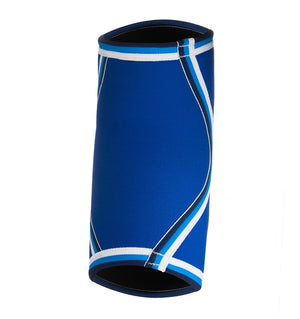 07081 - Rehband Elbow Sleeve - Blue Line - 5mm - Back
