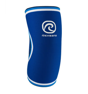 07081 - Rehband Elbow Sleeve - Blue Line - 5mm - Front
