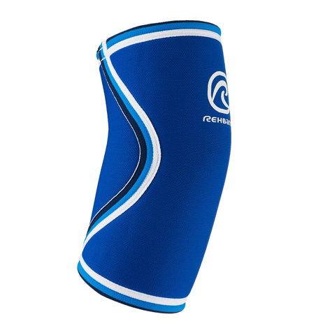 07081 - Rehband Elbow Sleeve - Blue Line - 5mm - Side