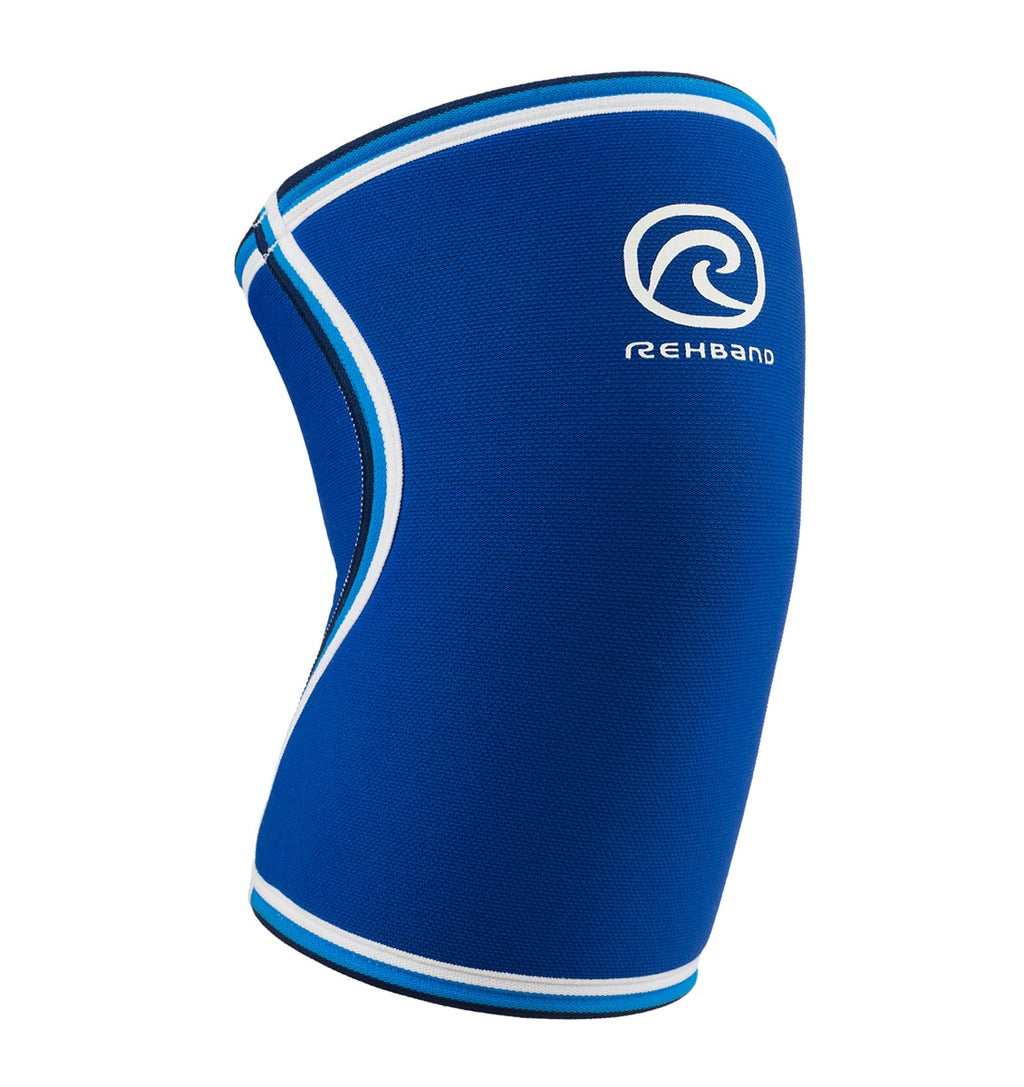 07084 - Rehband Knee Sleeve - Blue Line - 7mm - Front