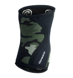 0775 - Rehband Rx Knee Sleeve - Camo - 5mm - Back