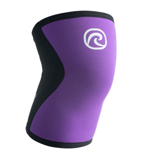 07751 - Rehband Rx Knee Sleeve - Purple/Black - 5mm - Front