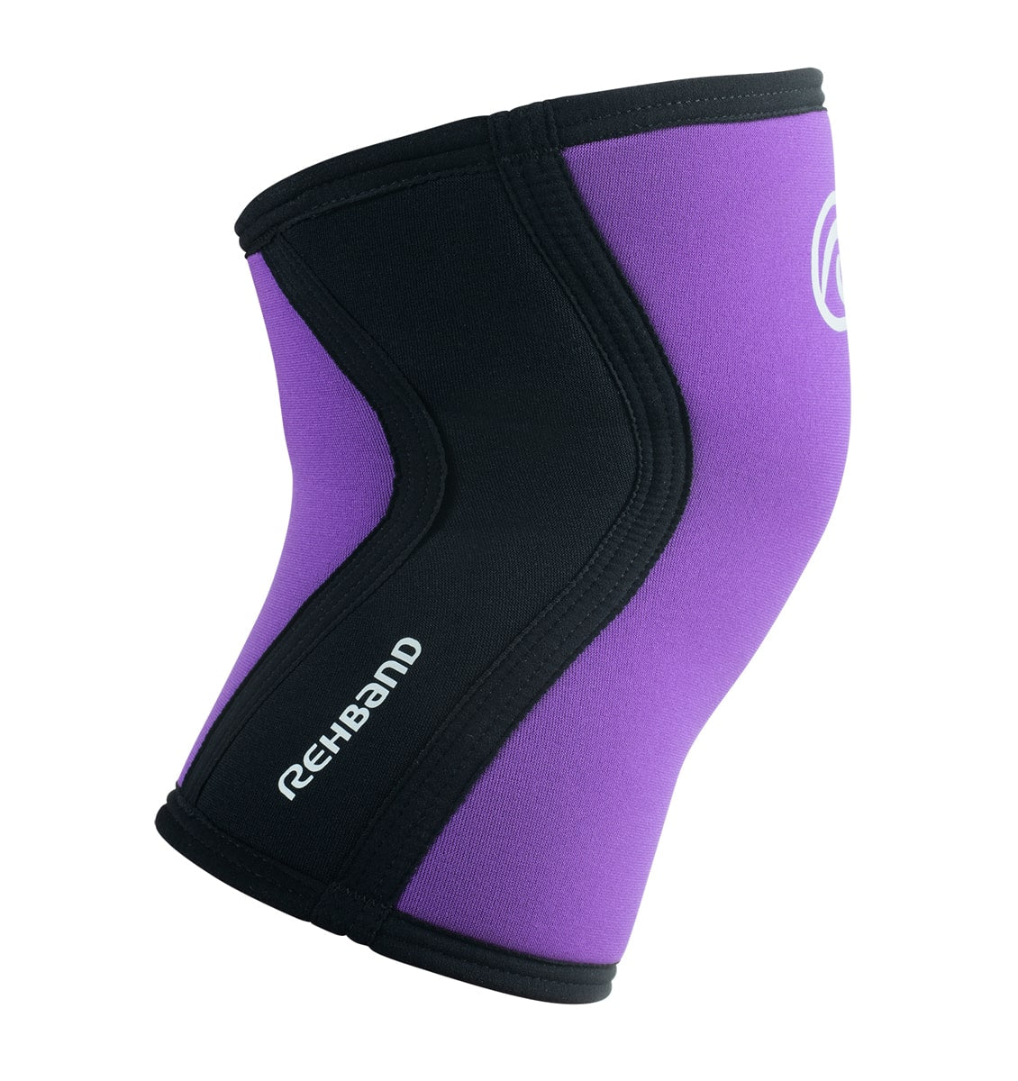07751 - Rehband Rx Knee Sleeve - Purple/Black - 5mm - Side