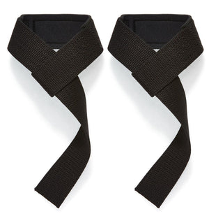 1000BPS Schiek Basic Padded Lifting Straps Back Pair