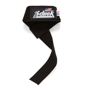 1000BPS Schiek Basic Padded Lifting Straps Front Single