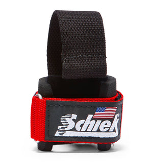 1000DLS Schiek Dowel Lifting Straps Red Front