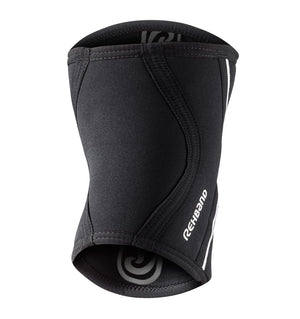 102306-01 - Rehband Rx Elbow Sleeve - Black - 5mm/3mm - Back