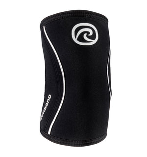 102306-01 - Rehband Rx Elbow Sleeve - Black - 5mm/3mm - Front