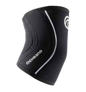 102306-01 - Rehband Rx Elbow Sleeve - Black - 5mm/3mm - Side