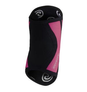 102333-020 - Rehband Rx Elbow Sleeve Black/Pink - 5mm/3mm - Back