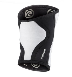 105301-01 - Rehband Rx Knee Sleeve - White/Black - 5mm - Back