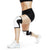 105301-01 - Rehband Rx Knee Sleeve - White/Black - 5mm - Lifestyle Shot