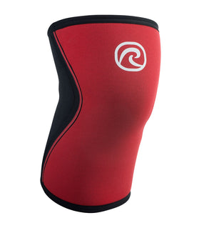105304-01 - Rehband Rx Knee Sleeve - Red/Black - 5mm - Front
