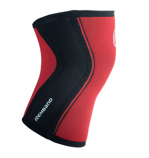 105304-01 - Rehband Rx Knee Sleeve - Red/Black - 5mm - Side
