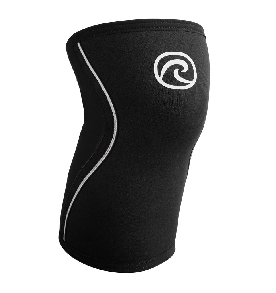 105306-50 - Rehband Rx Knee Sleeve - JUNIOR - Black - 5mm - Front