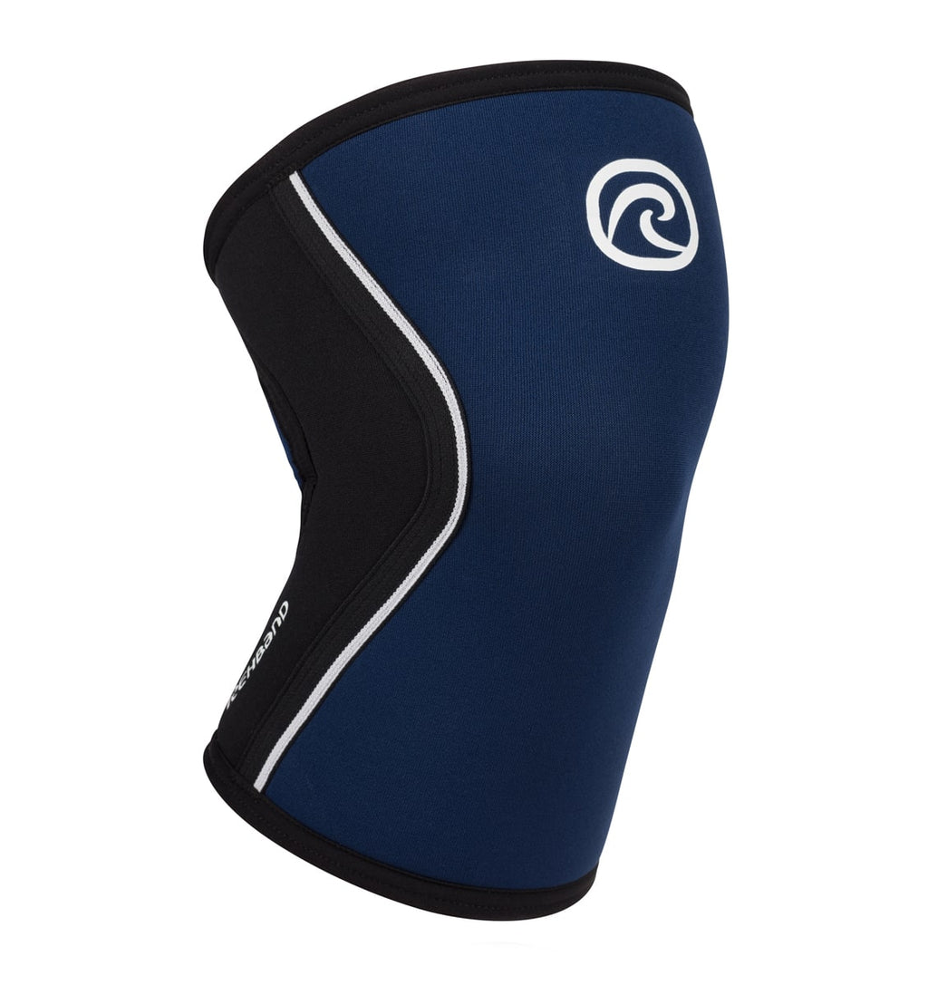 105308 - Rehband Rx Knee Sleeve - Navy/Black - 5mm - Front